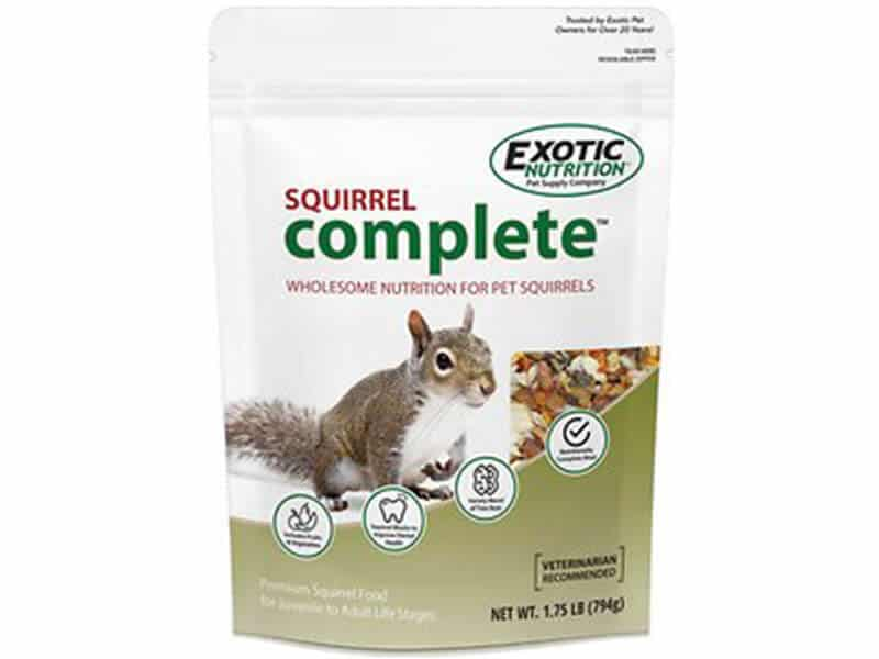 Exotic Nutrition Complete Squirrel Food